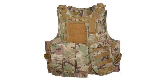 Tactical Vest (Heavy Duty, Multicam) - NEW