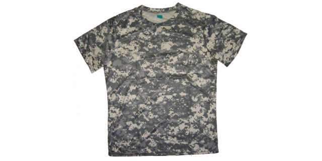 Grey Digital Camo T-Shirt - NEW
