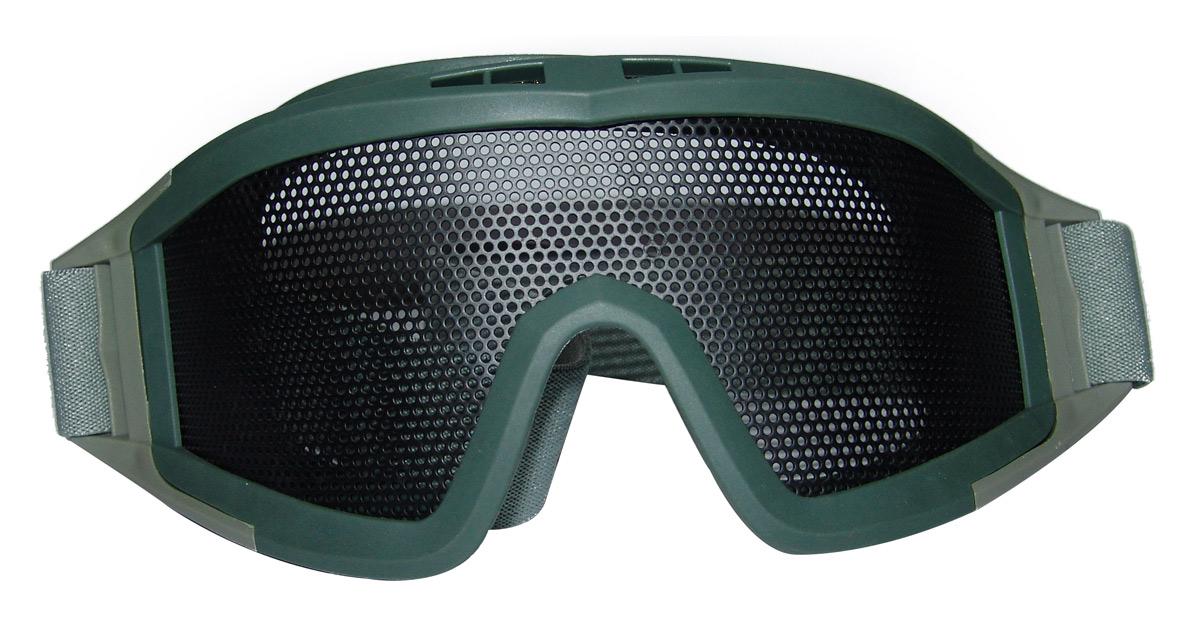 Mesh Visor, Grey/Green Colour - NEW