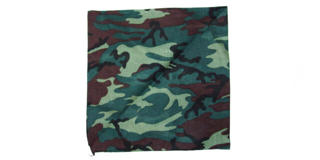 Scarf (Woodland Camo) - NEW