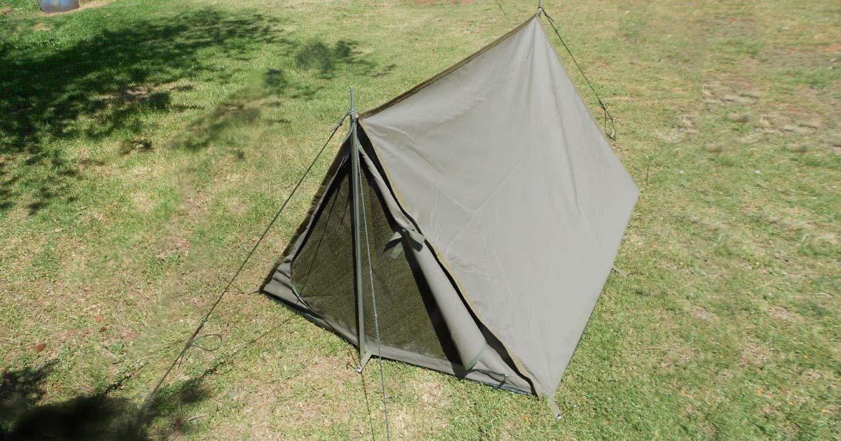 1 Man Cottage Tent (Ripblock Canvas) - NEW | South African Military Surplus & 1 Man Cottage Tent (Ripblock Canvas) - NEW | South African Military ...