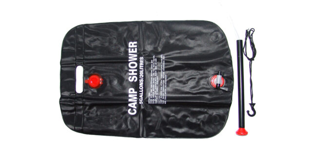 20 Litre Camping Shower (Black) - NEW