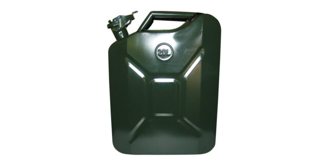 20L Metal Jerry Can (Olive Drab) - NEW