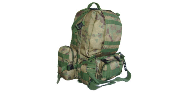 4 Piece Backpack +/- 35L Combo (FG Faded Green Camo) - NEW