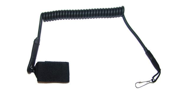 Hand Gun Lanyard (Black) - NEW