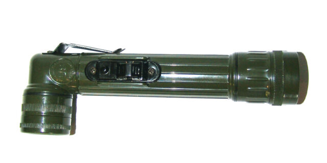 Right-Angle Torch (Olive Drab Colour) - NEW