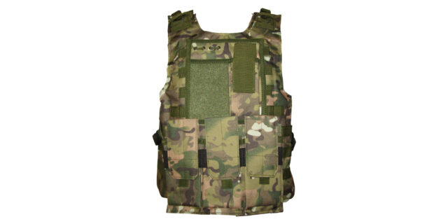 Tactical Vest (Heavy Duty, Multicam CP Camo) - NEW