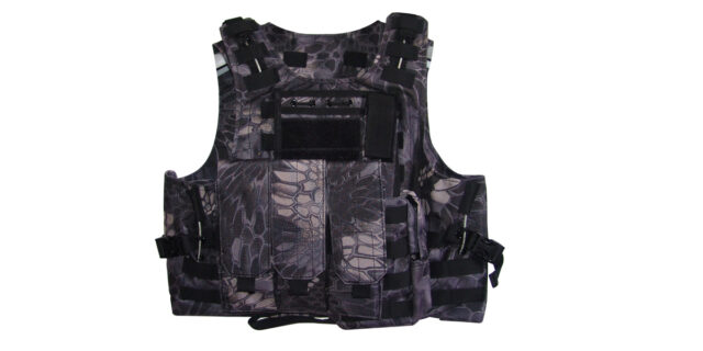 Tactical Vest (Heavy Duty, Taipan Camo) - NEW