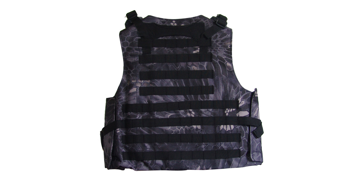 Tactical Vest (Heavy Duty, Taipan Camo) - NEW