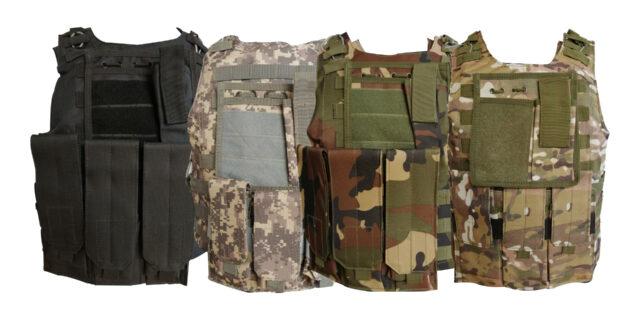 Tactical Vest (Various Colours)