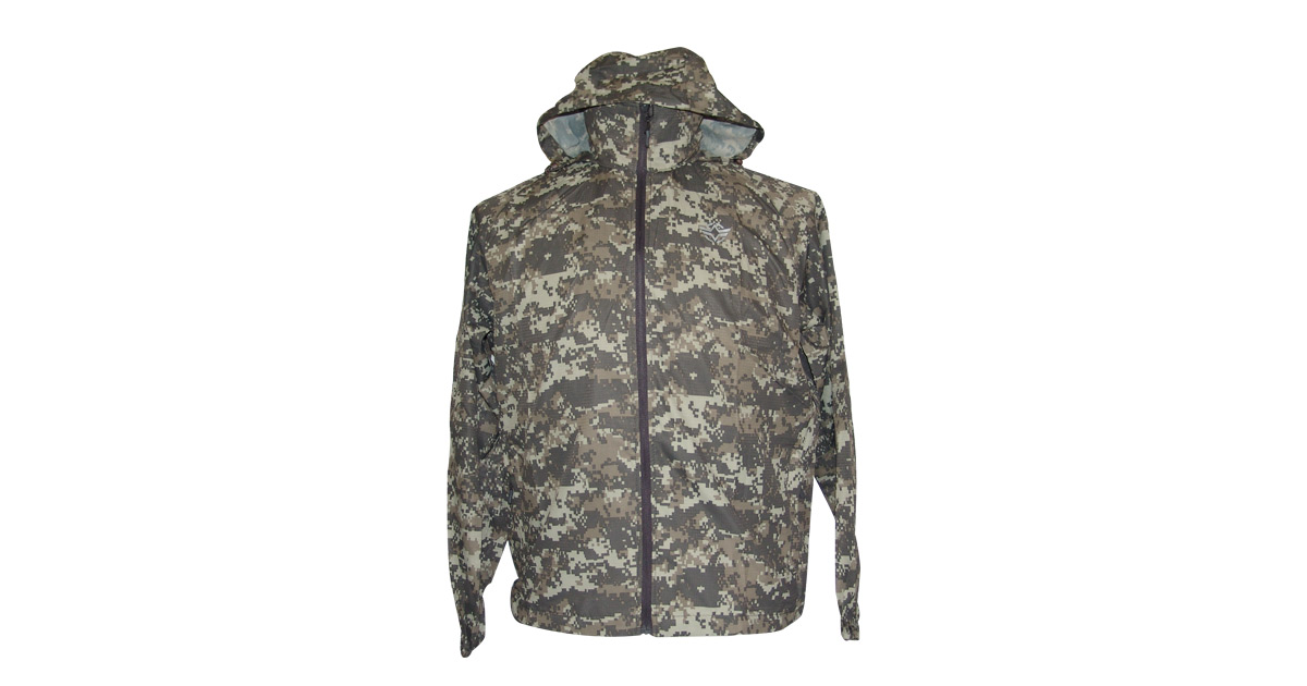 7a10560f4 Water-Resistant Windbreaker with Hood (Grey Digital ACU Camo) - NEW | South  African Military Surplus