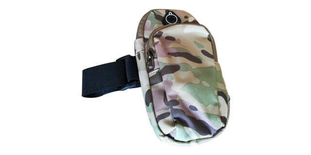 Camouflage Arm Strap Cellphone Holder (Various Colours) - NEW