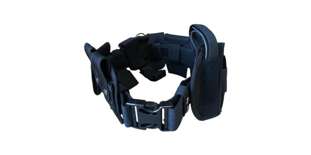 Black Tactical Utility Belt - NEW