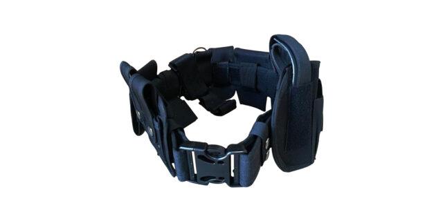 Black Tactical Utility Belt - NEW