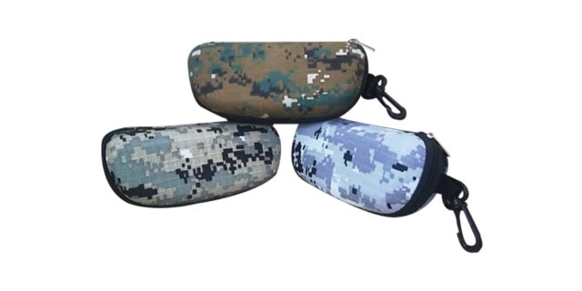 Camouflage Sunglass Case (Various Colours) - NEW