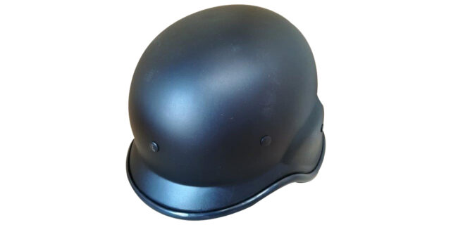 Plastic Tactical Helmet (Black) - NEW