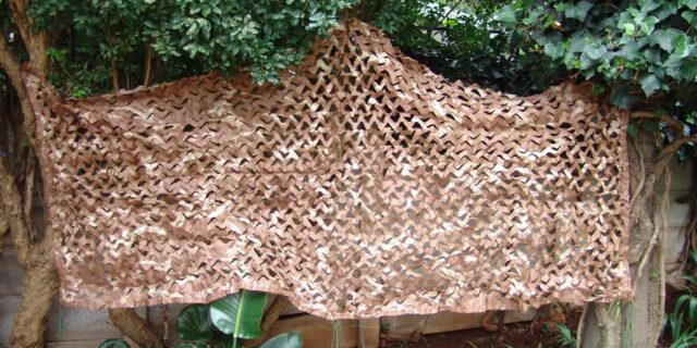 Netting (Beige Camo) per m² - NEW