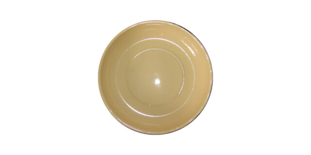 Enamel Plate (Cream Colour) - NEW