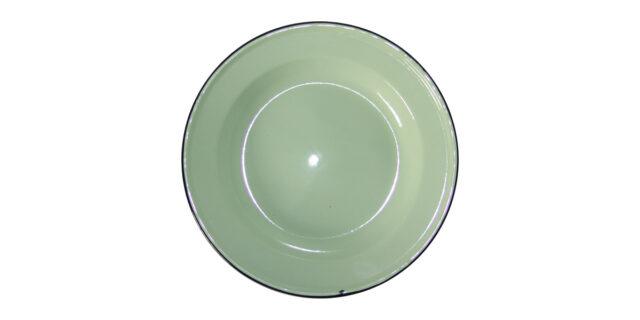 Enamel Rice Plate (Mint Colour) - NEW