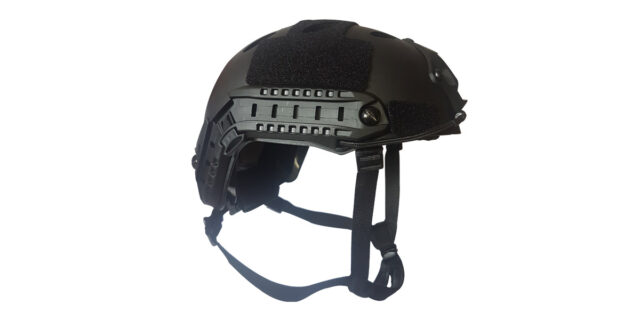 "Black Plastic ""Airsoft"" Helmet - NEW"