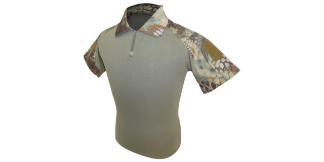 Rattlesnake Camo Golf Shirt (Slim Fit) - NEW