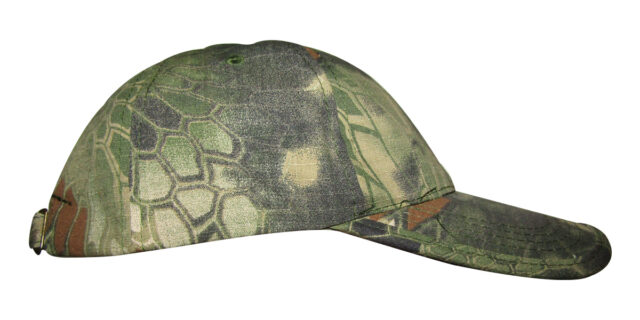Dark Green Rattlesnake Camo Cap - NEW