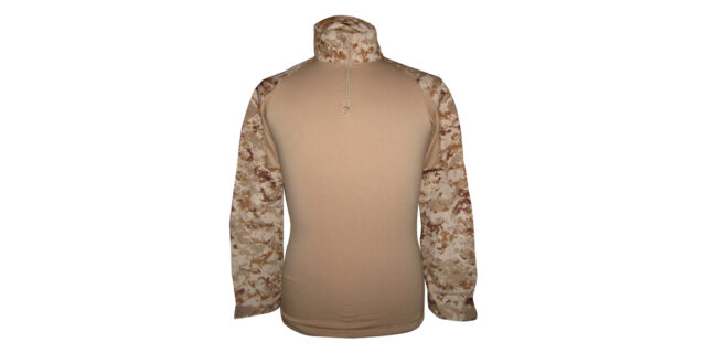 "Digital Desert Camo ""Frog Shirt"" excluding Elbow Pads - NEW"