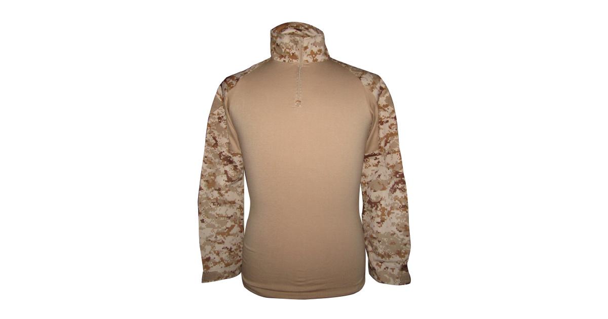 """Digital Desert Camo """"Frog Shirt"""" including Elbow Pads - NEW"""