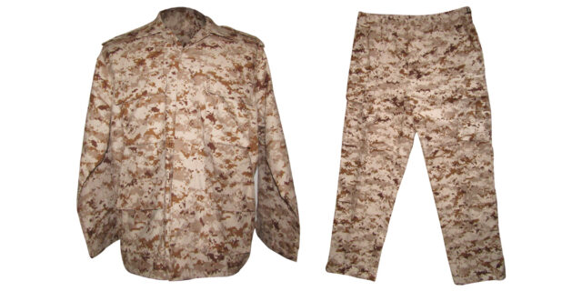 Digital Desert Camo Uniform - NEW