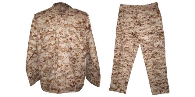 Digital Desert Camo Uniform - NEW
