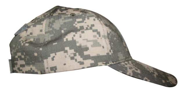 Digital Grey Camo Cap - NEW