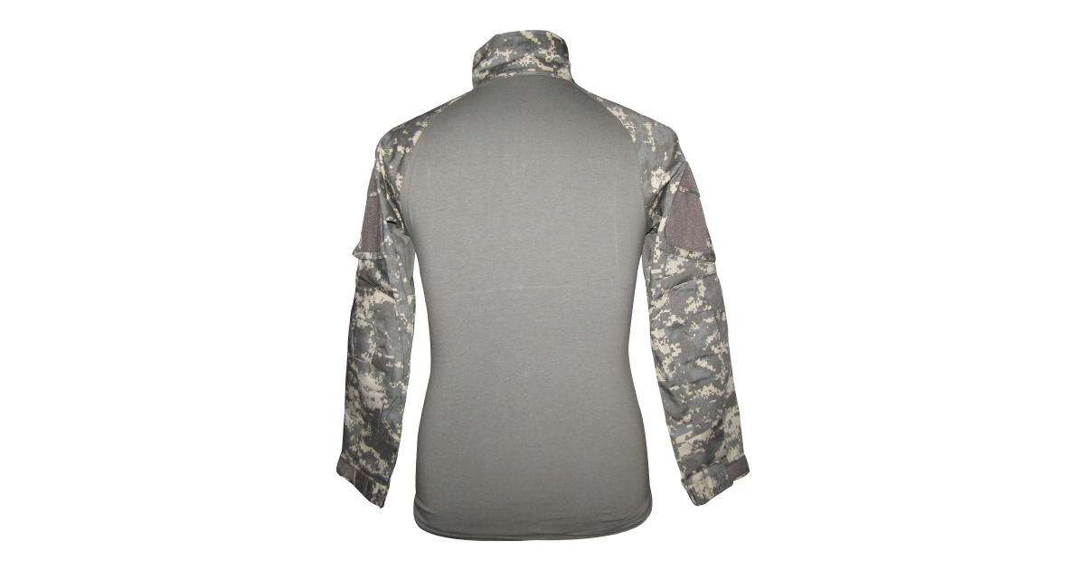 """Digital Grey Camo """"Frog Shirt"""" excluding Elbow Pads - NEW"""