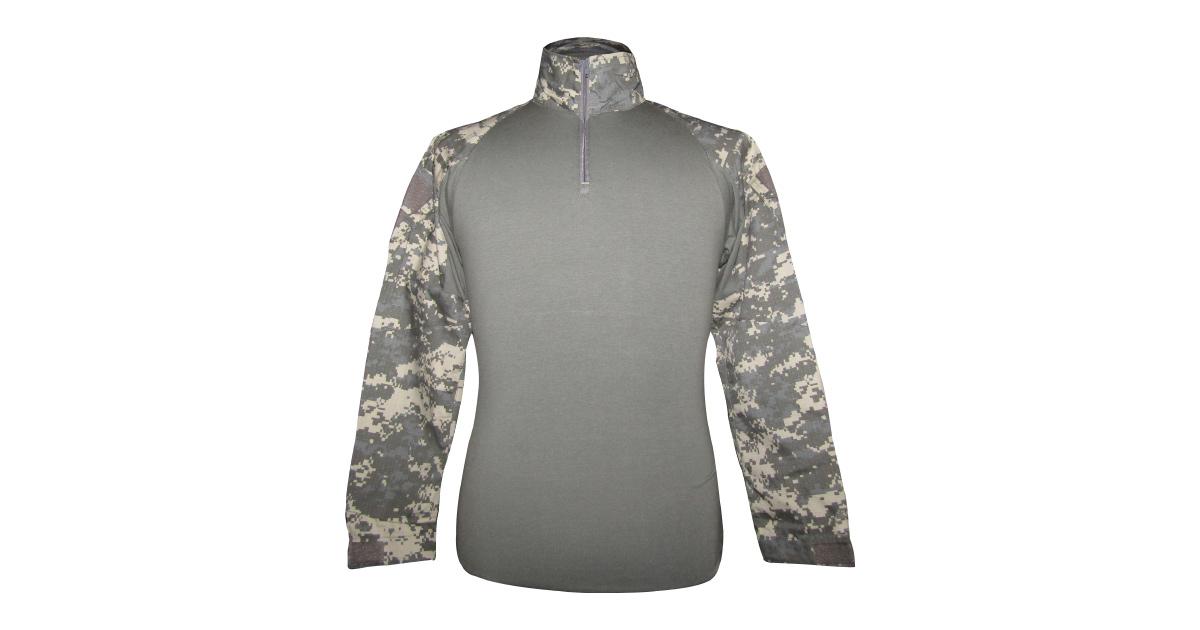 "Digital Grey Camo ""Frog Shirt"" including Elbow Pads - NEW"