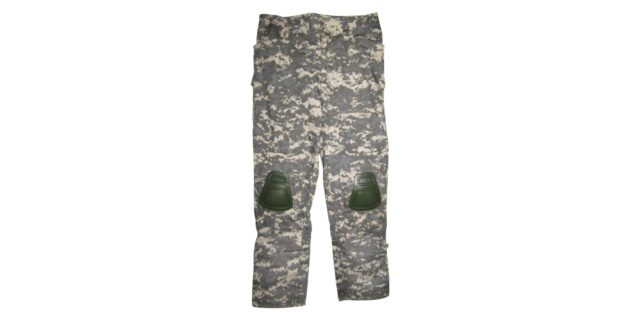 "Digital Grey Camo ""Frog Trousers"" including Knee Pads - NEW"