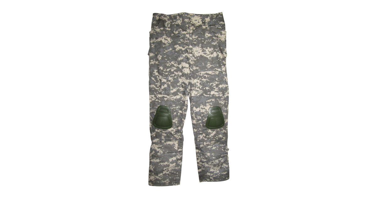 """Digital Grey Camo """"Frog Trousers"""" including Knee Pads - NEW"""