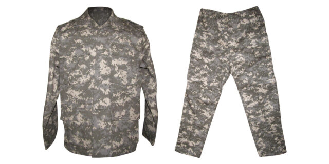 Digital Grey Camo Uniform - NEW