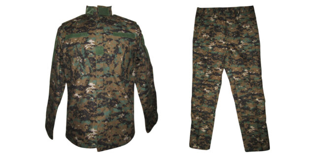 Digital Woodland Camo Uniform - NEW