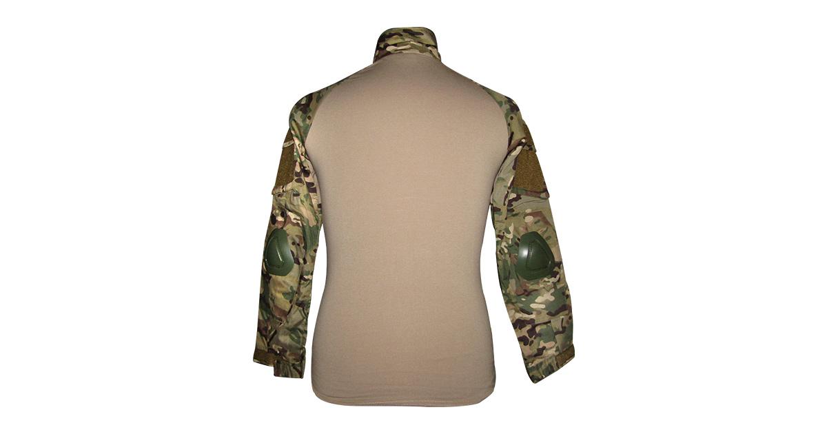 """Multicam Camo """"Frog Shirt"""" including Elbow Pads - NEW"""
