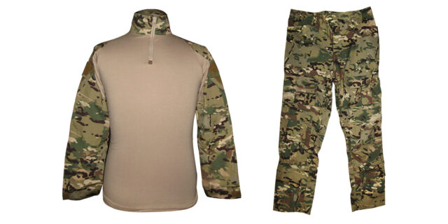 "Multicam Camo ""Frog Uniform"" excluding Knee & Elbow Pads - NEW"