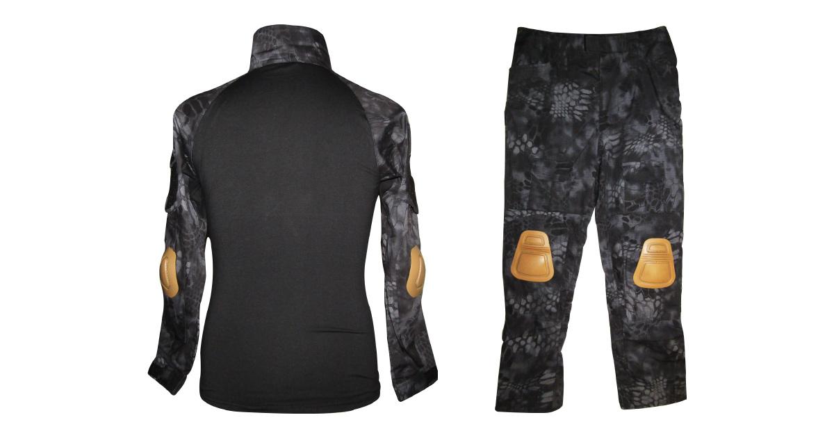 "Taipan Camo ""Frog Uniform"" including Knee & Elbow Pads - NEW"
