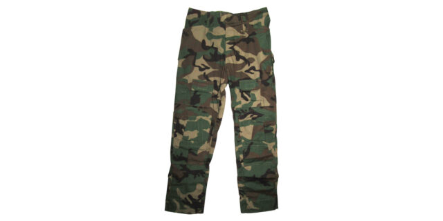 """Woodland Camo """"Frog Trousers"""" excluding Knee Pads - NEW"""