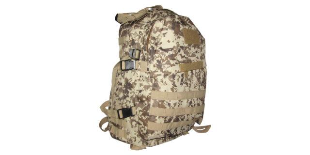 Backpack (3 Compartment, Digital Desert Camo) - NEW