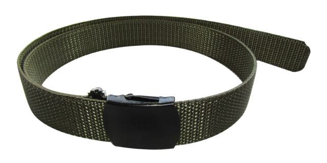 Pin Buckle Belt (Olive Green) - NEW