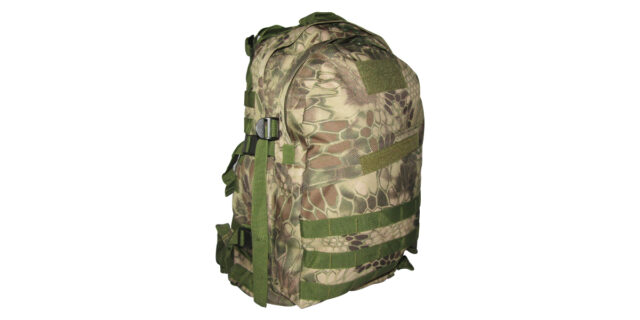 Backpack (3 Compartment, Rattlesnake Camo) - NEW