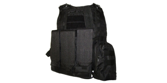 Tactical Vest (Heavy Duty, Black) - NEW