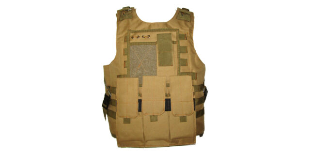 Tactical Vest (Heavy Duty, Fawn) - NEW