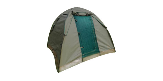 Drab Olive Green Dome Tent (2.4m x 2.4m) - NEW
