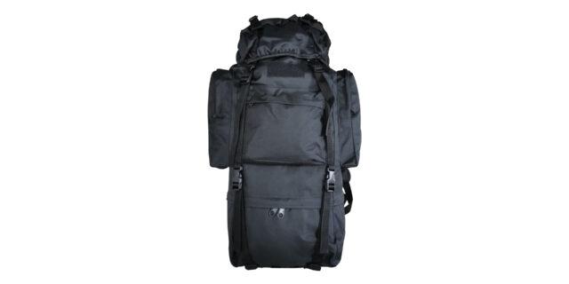 70L Black Backpack - NEW