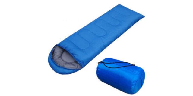 Envelope Type Sleeping Bag (Light Blue) - NEW