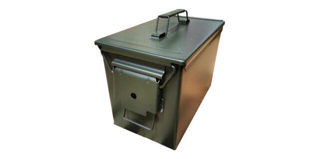 50. CAL Ammo Box (Olive Green) - NEW